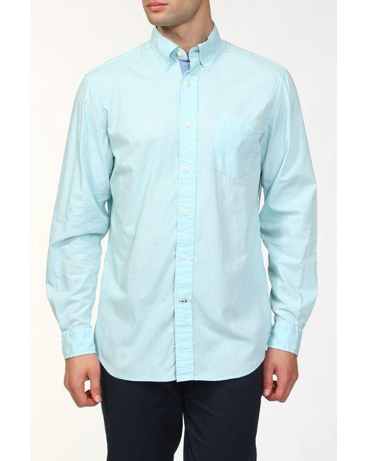 Nautica   Мужская Голуба Рубашка