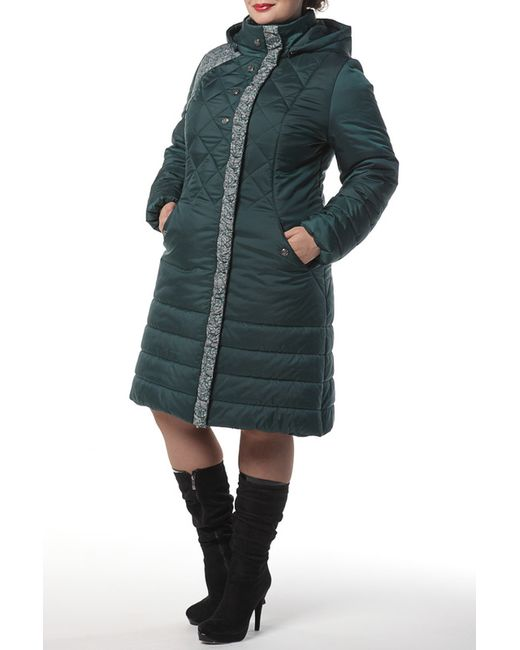 DizzyWay   Женское Зелёное Пальто