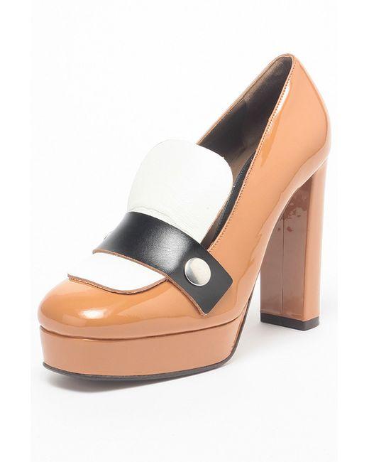 Marni   Женские Многоцветные Туфли