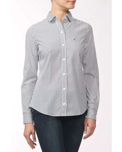 Nautica   Женская Серая Рубашка