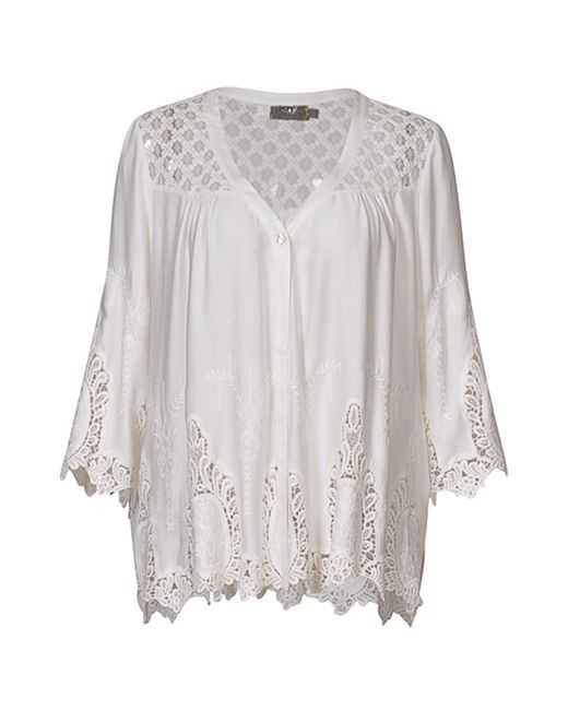 Myrine | Женская Белая Рубашка