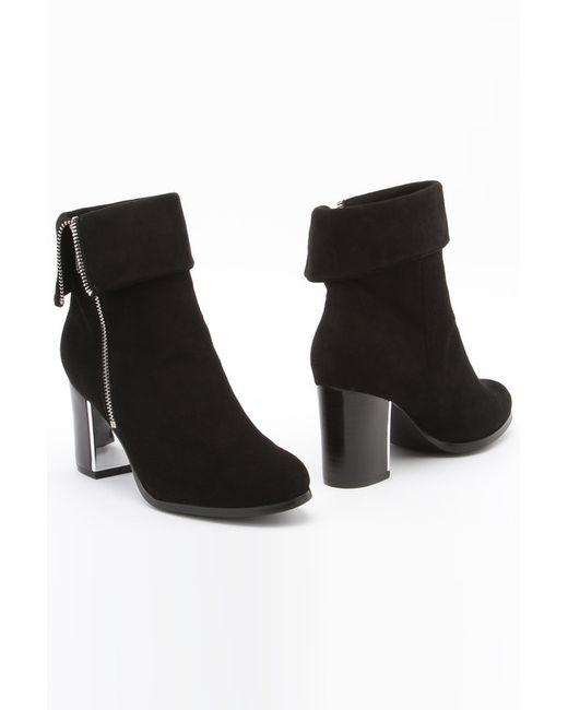 Milana | Женские Чёрные Ботинки