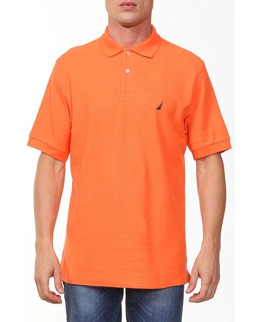 Nautica | Мужское Оранжевое Поло