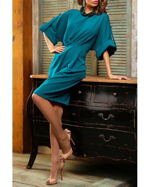 Bezko | Женское Голубое Платье