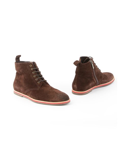 Mascotte   Мужские Коричневые Ботинки