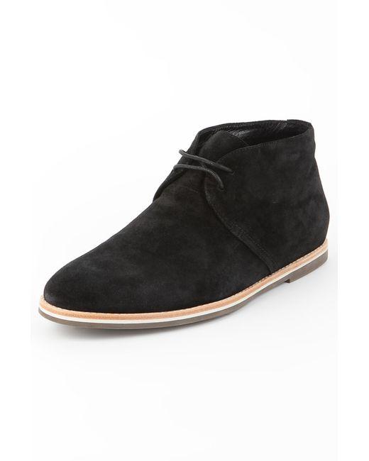 Mascotte   Мужские Чёрные Ботинки