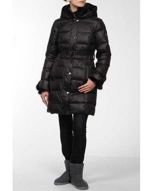 Finn Flare | Женское Чёрное Пальто