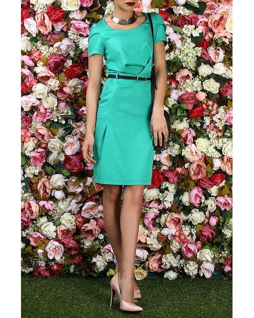 Bezko | Женское Зелёное Платье