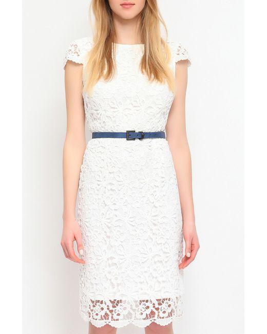 Top Secret   Женское Белое Платье