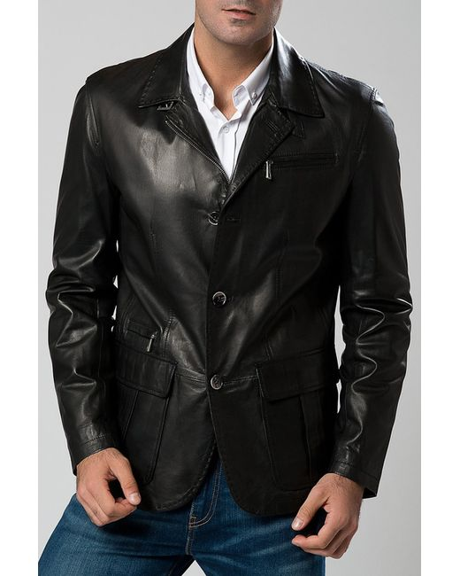 DERI&MOD   Мужская Чёрная Куртка