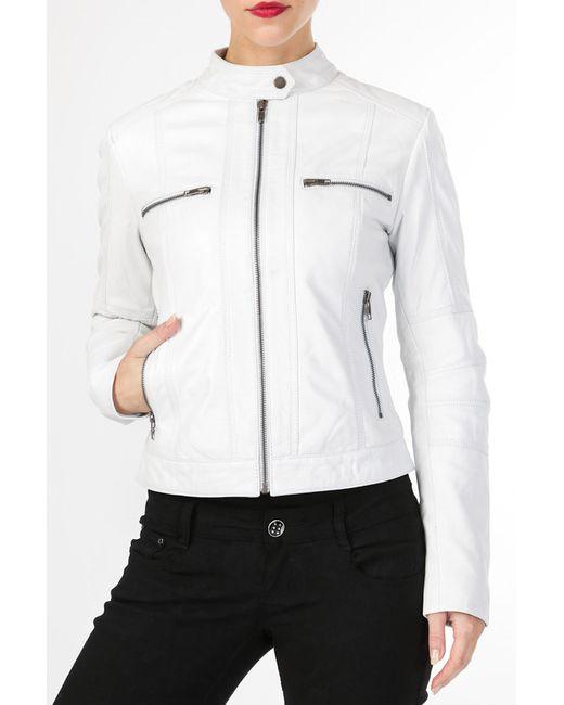 Helium | Женская Белая Куртка