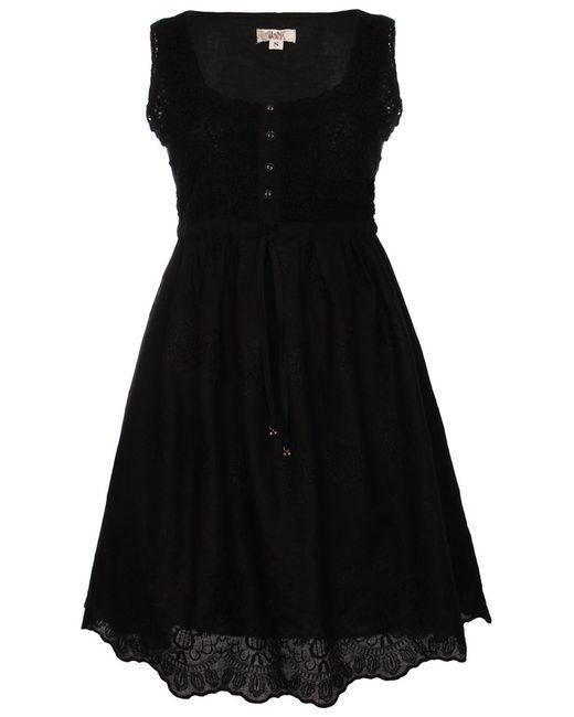 Usha | Женское Чёрное Платье