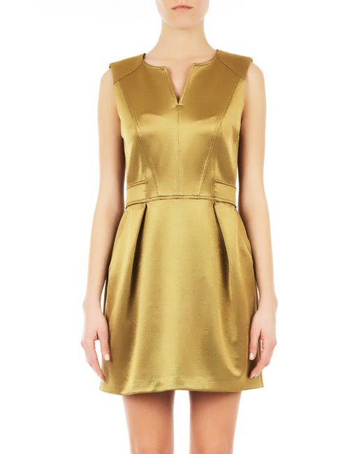 ATOS LOMBARDINI | Женское Золотое Платье