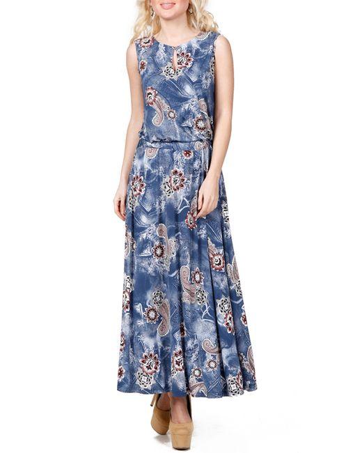 Rosso-Style | Женское Синее Платье