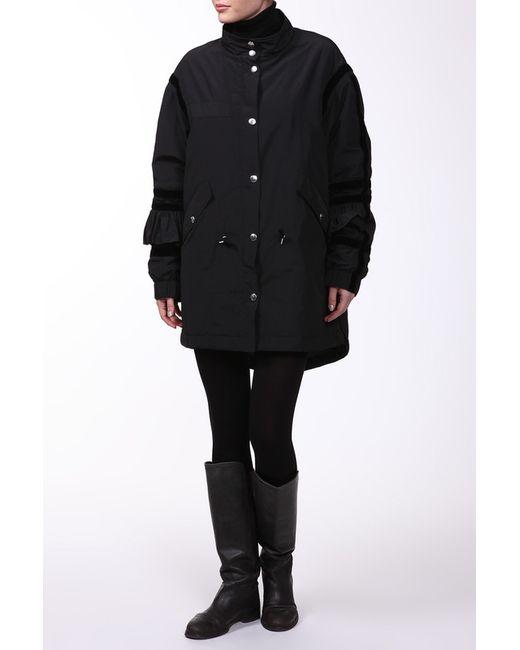 Alexander McQueen | Женская Чёрная Куртка