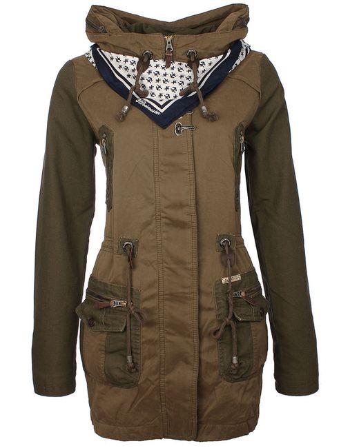 DREIMASTER | Женская Зелёная Куртка