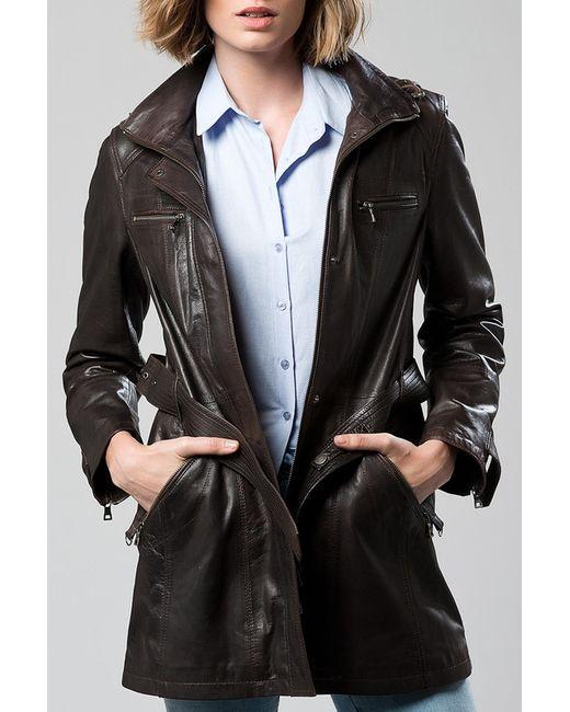 DERI&MOD   Женская Коричневая Куртка