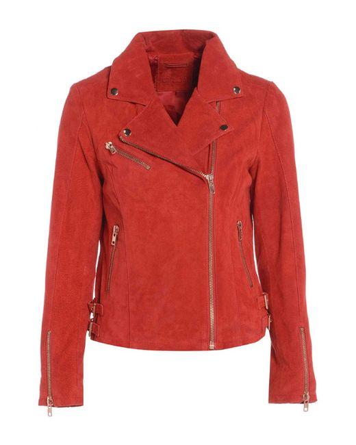 BARNEYS NEW YORK   Женская Красная Куртка