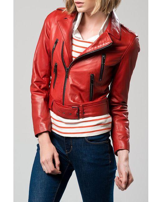 DERI&MOD   Женская Красная Куртка