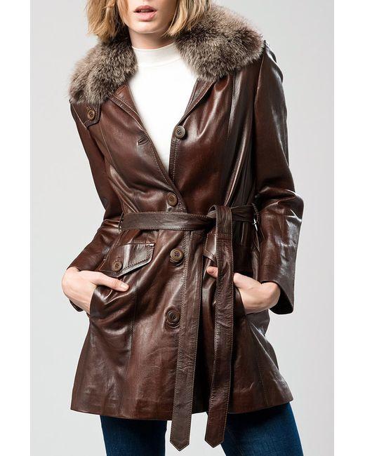 DERI&MOD | Женское Коричневое Пальто