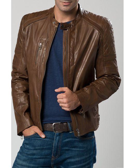 DERI&MOD   Мужская Коричневая Куртка