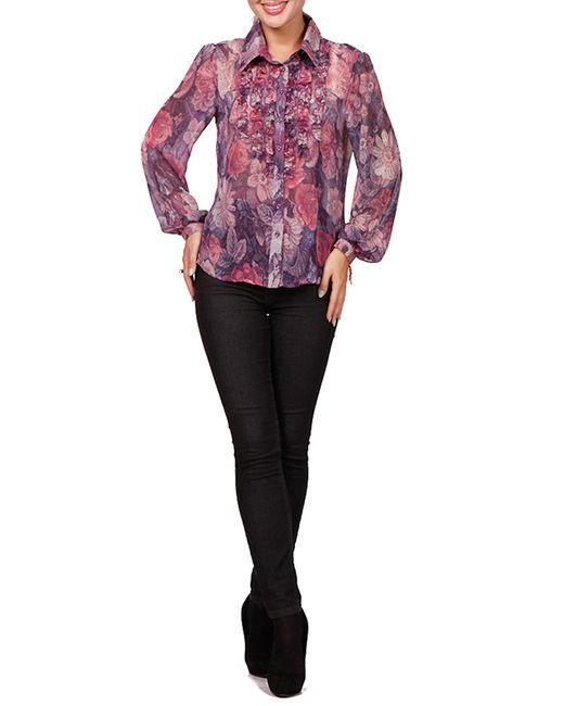 Rosso-Style | Женская Фиолетовая Блуза
