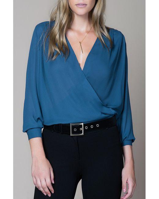 Milla | Женская Синяя Блузка