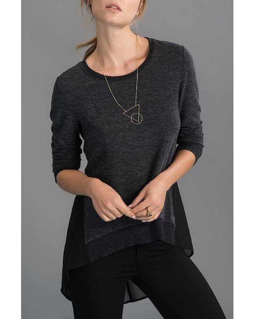 Milla | Женская Чёрная Блузка