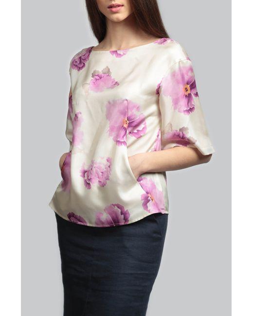 ЭНСО | Женская Многоцветная Блузка