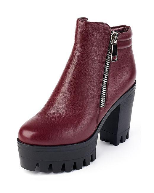 Grand Style | Женские Красные Ботинки