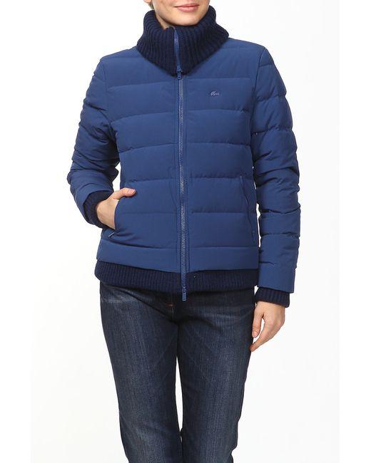 Lacoste   Женская Синяя Куртка