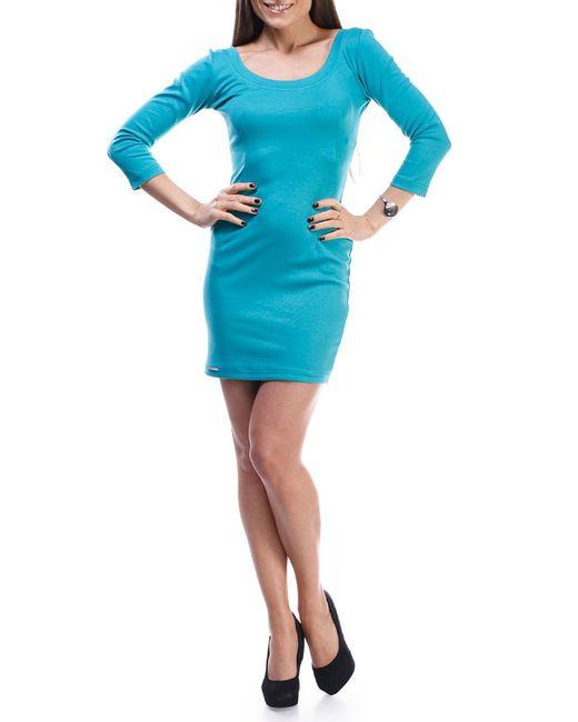 Majaly | Женское Голубое Платье