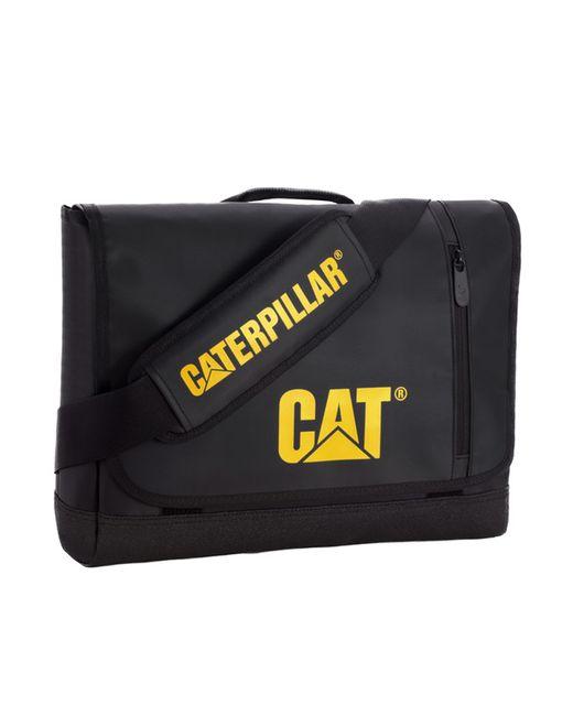 Caterpillar | Женская Чёрная Сумка На Плечо