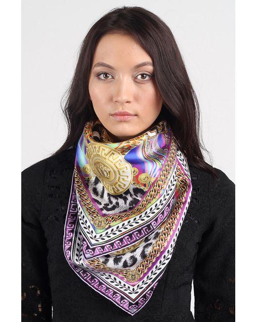 Versace | Женский Фиолетовый Платок