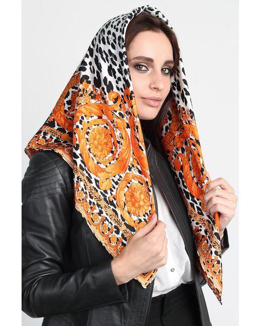 Versace | Женский Оранжевый Платок
