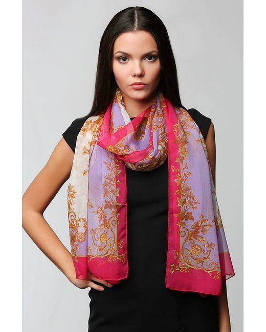 Versace | Женский Фиолетовый Палантин