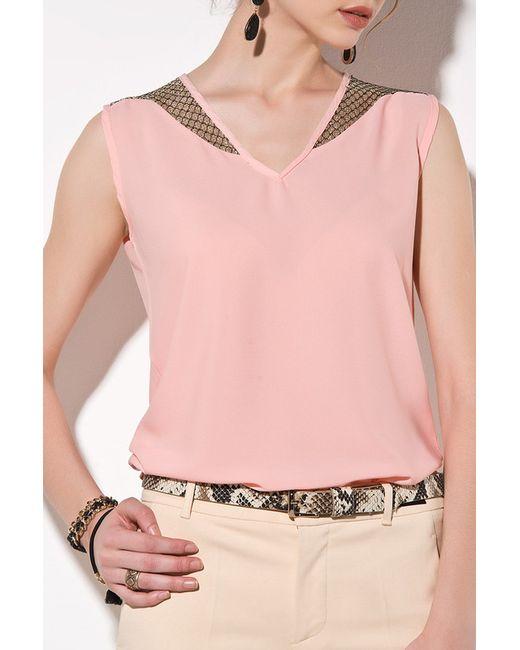 Pretty mark | Женская Розовая Блуза