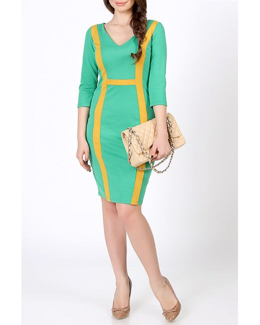 Spicery   Женское Зелёное Платье Дионисия