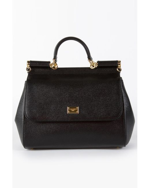 Dolce & Gabbana | Женская Чёрная Сумка