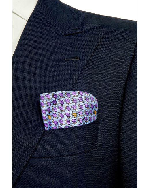 BELSIRE MILANO   Мужской Фиолетовый Платок