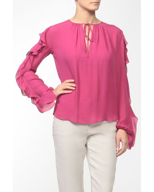 Emilio Pucci   Женская Розовая Блуза