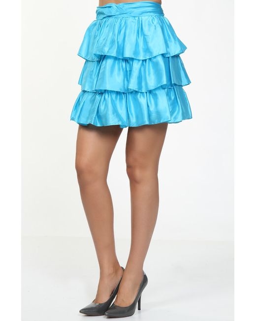Ralph Lauren   Женская Голуба Юбка