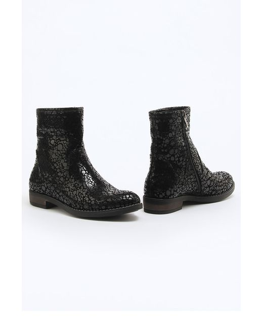 ENISSE | Женские Чёрные Ботинки