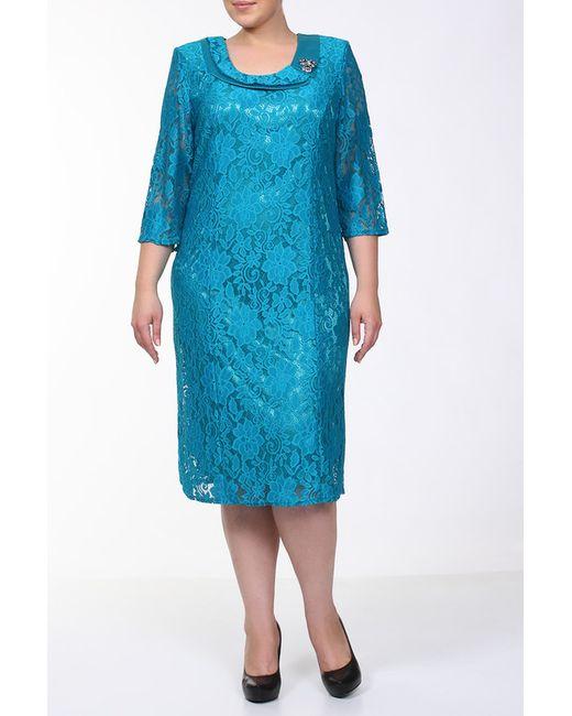 Q'NEEL | Женское Голубое Платье