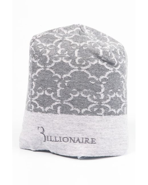 Billionaire | Мужская Серая Шапка