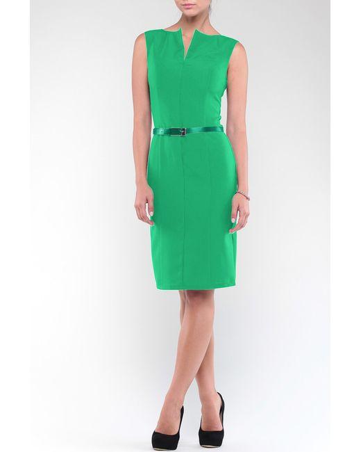 REBECCA TATTI | Женское Зелёное Платье