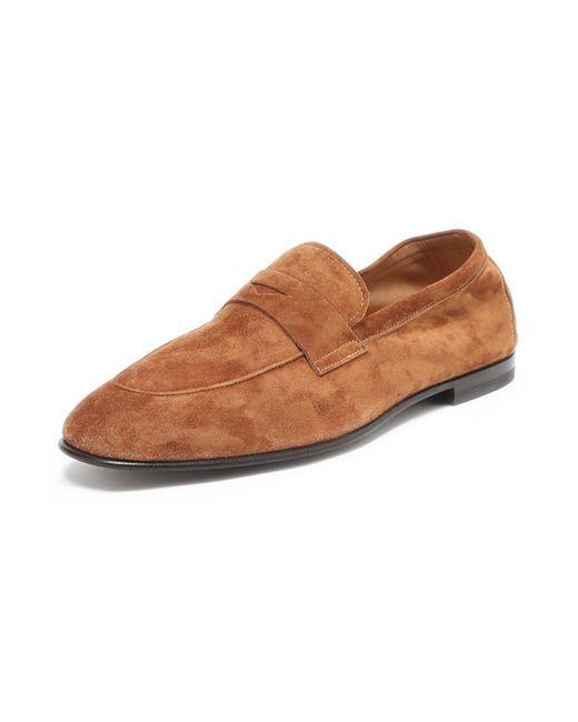 Giorgio Armani   Мужские Коричневые Туфли