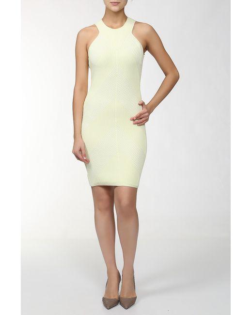 Maison Ullens | Женское Жёлтое Платье