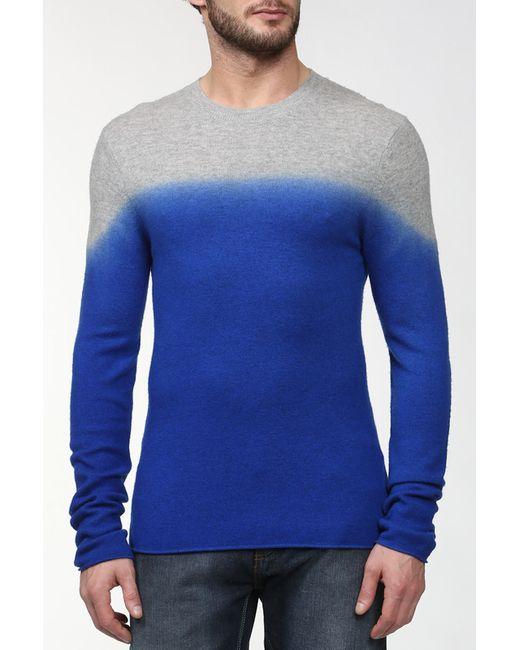 Ann Demeulemeester   Мужской Многоцветный Пуловер Вязаный