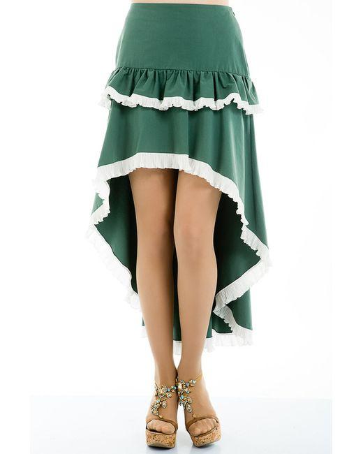 Tsurpal | Женская Зелёная Юбка